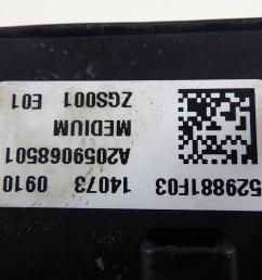 fuse box a2059068501 mercedes benz mercedes benz c class  [ 1280 x 960 Pixel ]