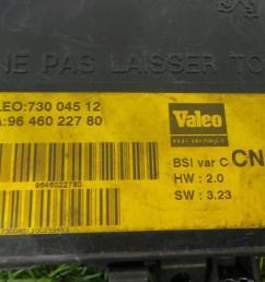 fuse box 96 460 227 80 citro n xsara n1 2 0 hdi 90  [ 1536 x 864 Pixel ]