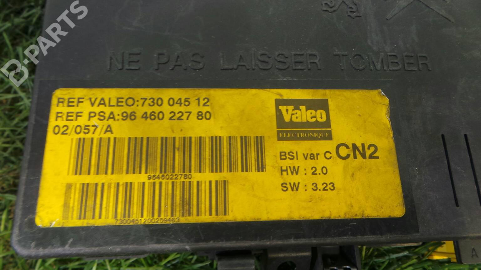 hight resolution of fuse box 96 460 227 80 citro n xsara n1 2 0 hdi 90