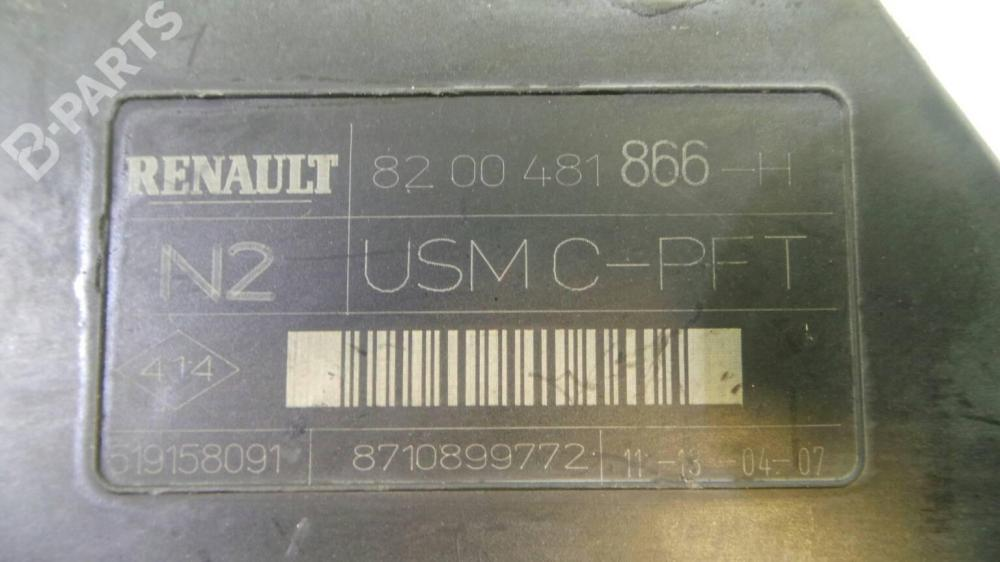 medium resolution of  fuse box 8200 481 866 h renault megane ii bm0 1 cm0