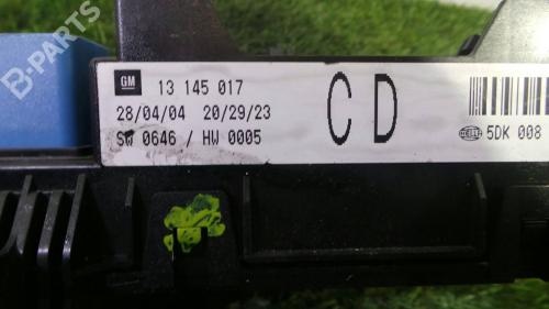 small resolution of fuse box 13 145 017 opel astra h a04 1 7