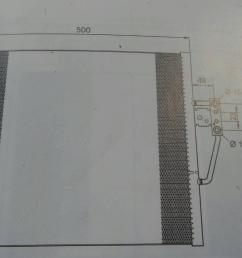 ac radiator 1711 1740 7870 bmw 5 e39 520 i 4 [ 1536 x 864 Pixel ]