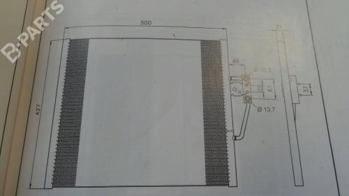 small resolution of  ac radiator 1711 1740 7870 bmw 5 e39 520 i 4