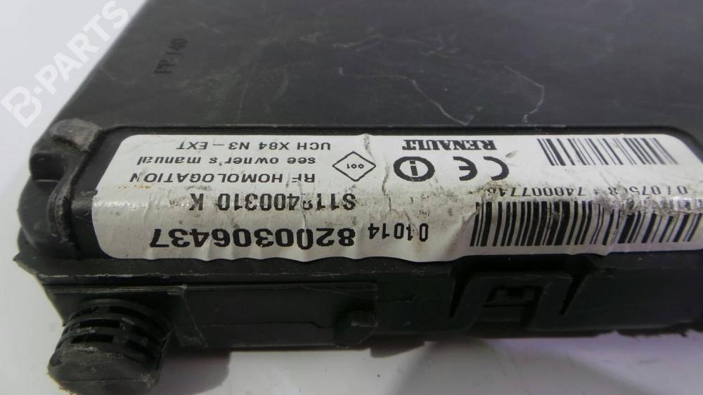 medium resolution of fuse box 8200306437 renault sc nic ii jm0 1 1 9 dci jm0g