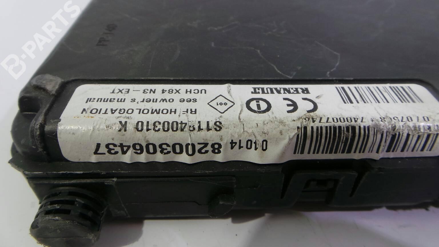 hight resolution of fuse box 8200306437 renault sc nic ii jm0 1 1 9 dci jm0g