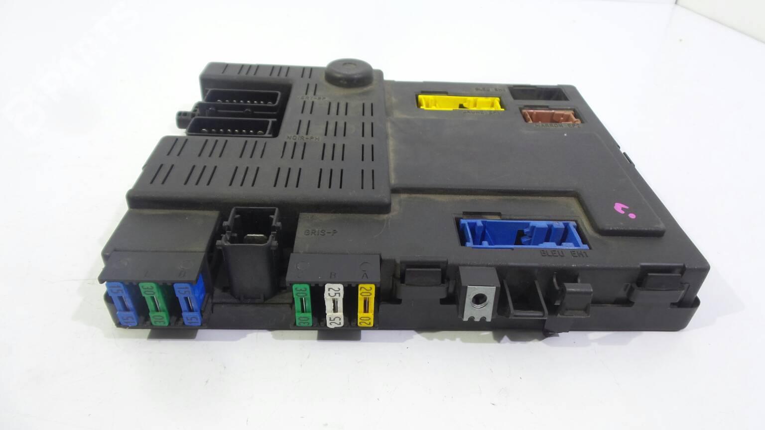 hight resolution of  fuse box 9642409480 citro n xsara picasso n68 2 0 hdi 5 doors