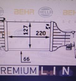 intercooler 9129519dx opel astra g estate t98 2 0 dti 16v f35  [ 1536 x 864 Pixel ]