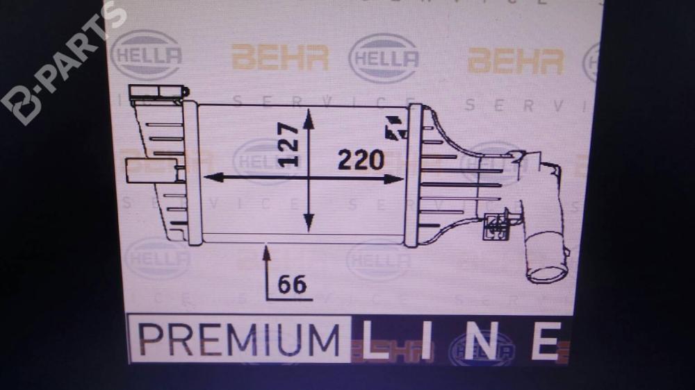 medium resolution of  intercooler 9129519dx opel astra g estate t98 2 0 dti 16v f35
