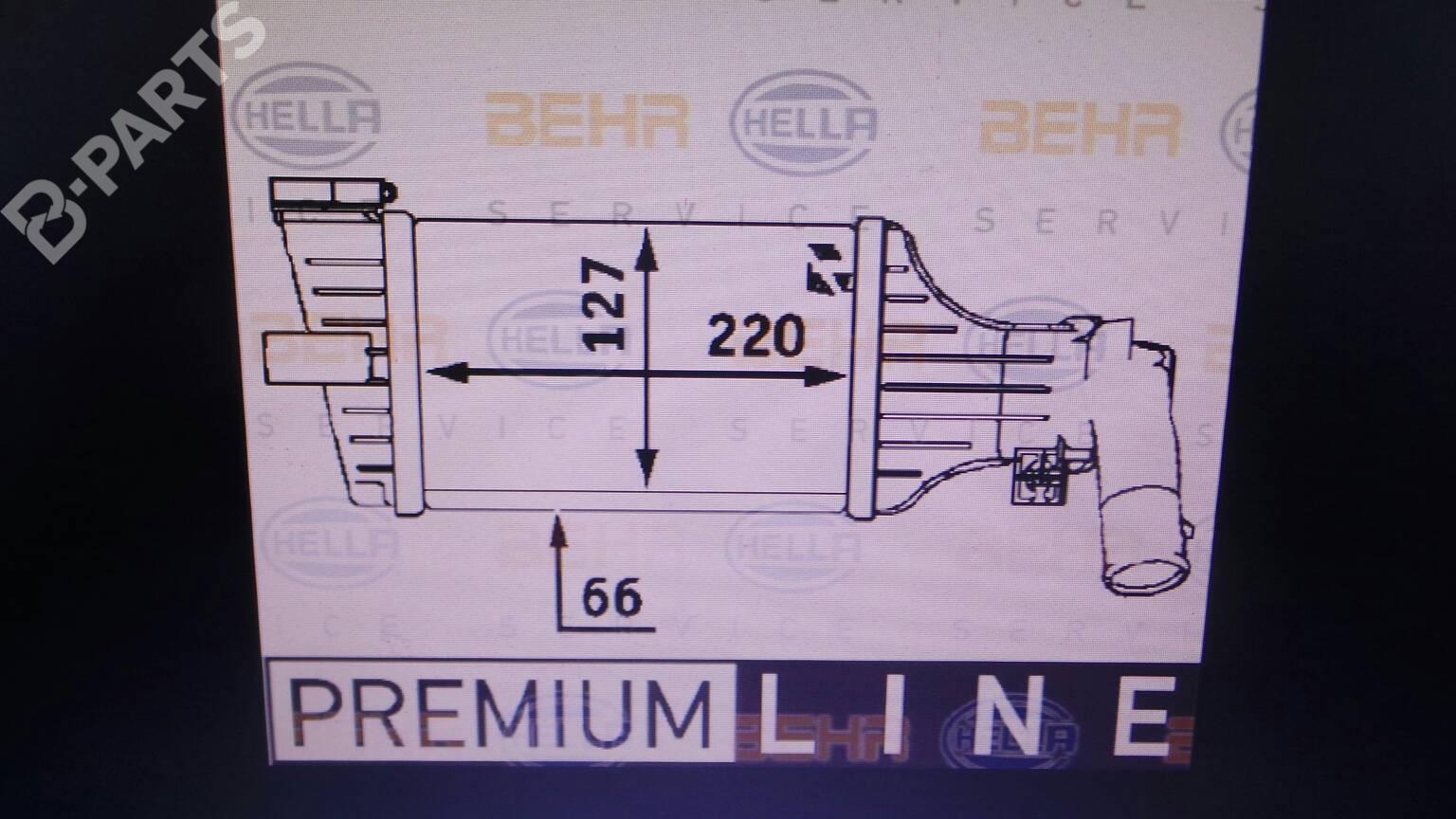 hight resolution of  intercooler 9129519dx opel astra g estate t98 2 0 dti 16v f35