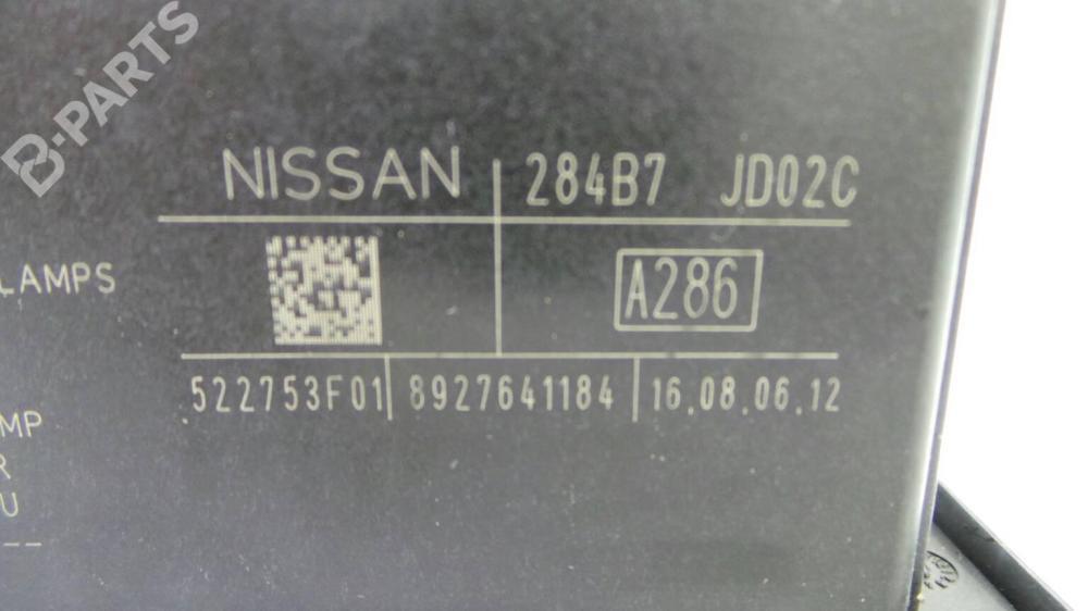 medium resolution of fuse box 284b7 nissan qashqai qashqai 2 i j10 jj10