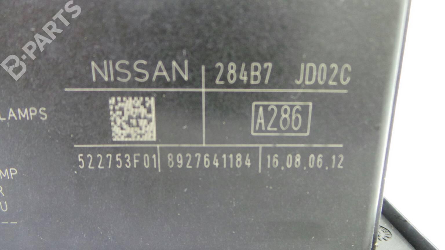 hight resolution of fuse box 284b7 nissan qashqai qashqai 2 i j10 jj10