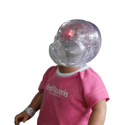 Simulador del Síndrome de Bebé Sacudido