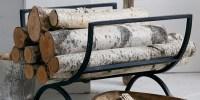13 Best Firewood Log Holders for Winter 2017 - Indoor ...