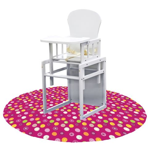 high chair splat mat hanging with footrest 9 best baby mats of 2018 - for less mess