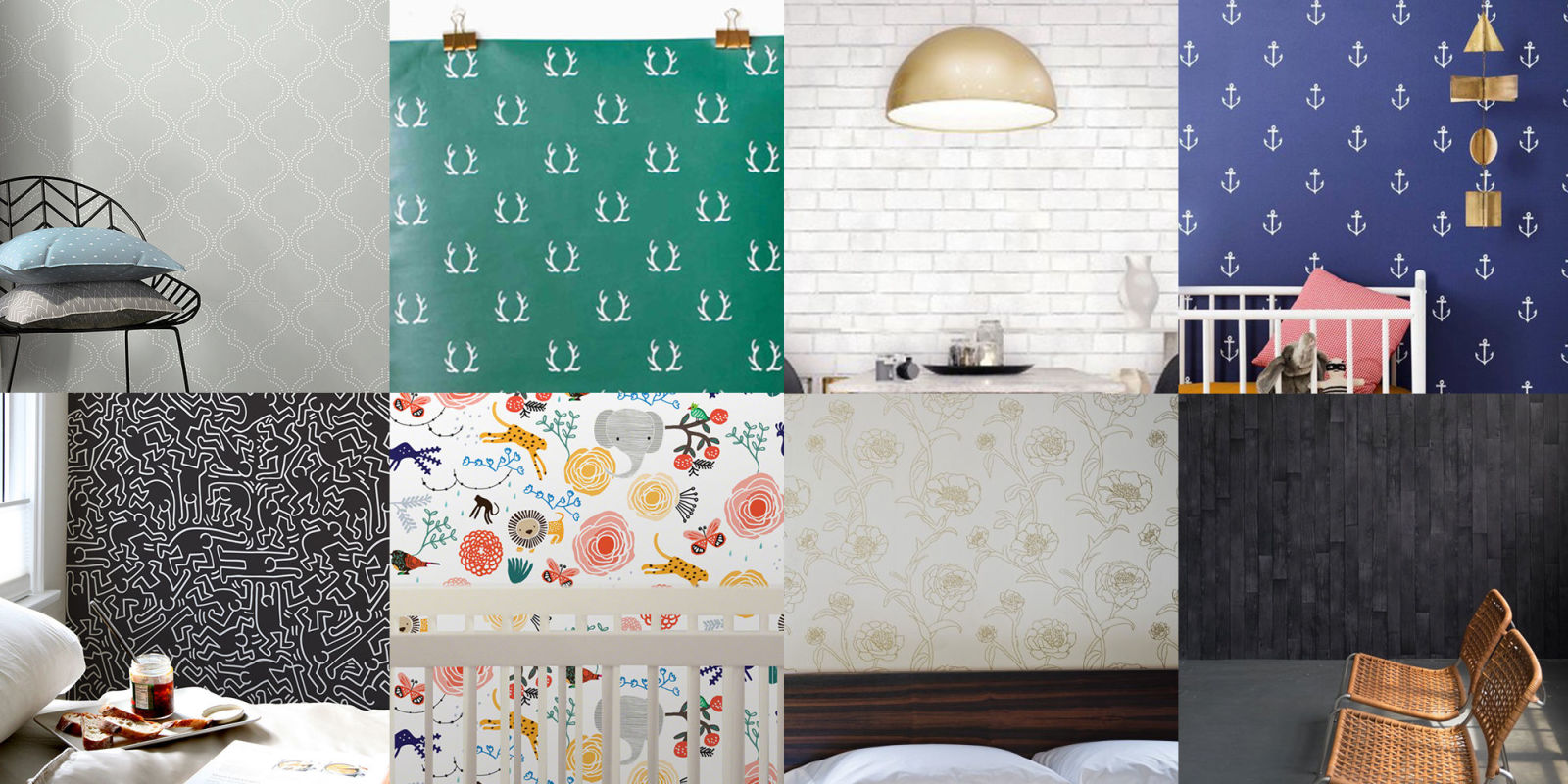 11 Best Temporary Wallpapers Removable Adhesive
