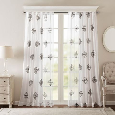 10 Best Sheer Curtains 2017 Pretty Sheer Curtain Panels And Drapes