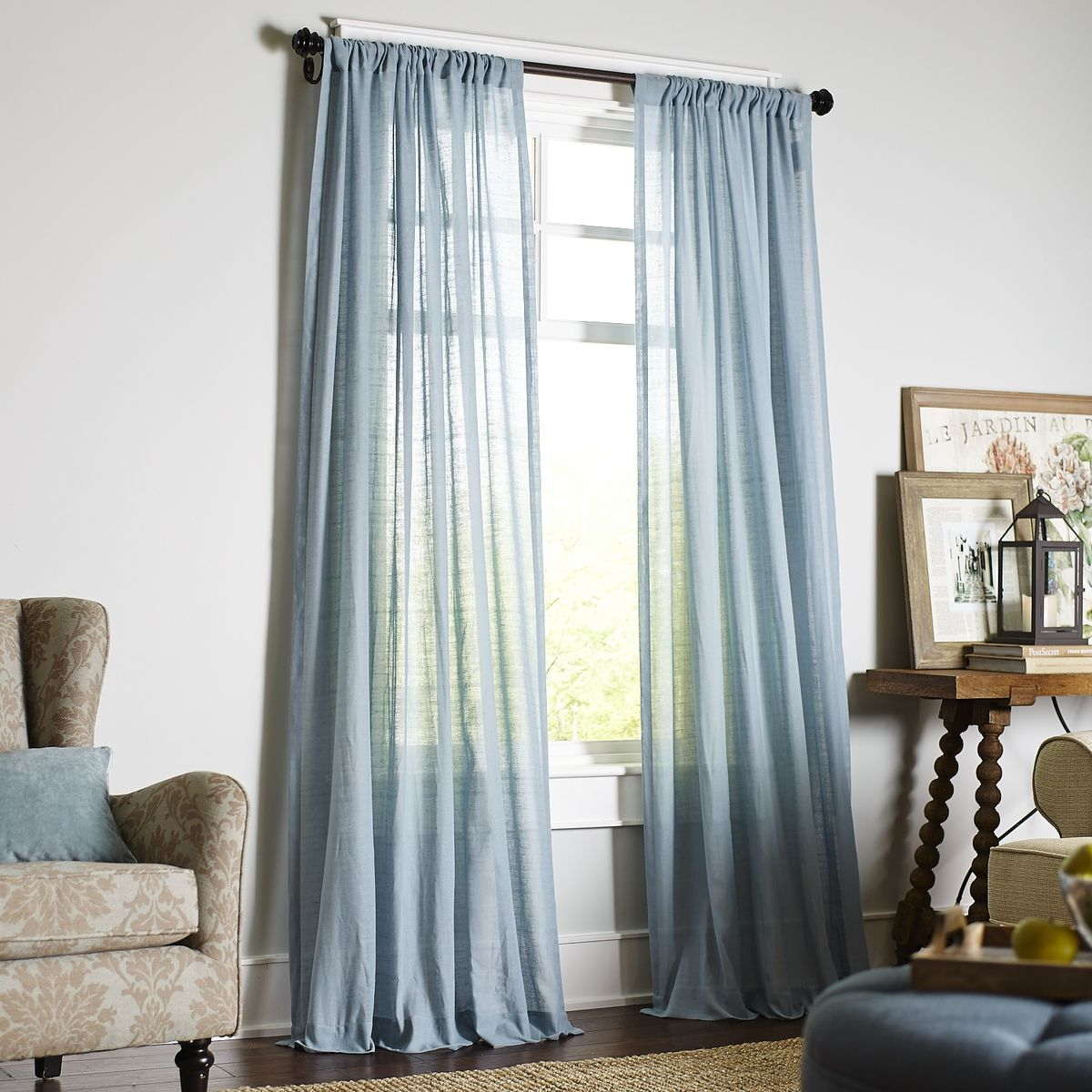 10 Best Sheer Curtains 2018  Pretty Sheer Curtain Panels
