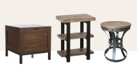 15 Best Rustic End Tables in 2018 - Modern Country Wood ...