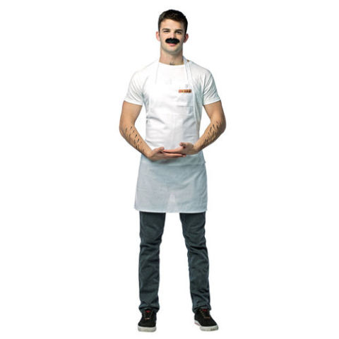 $20 BUY NOW This costume is pretty simple, but fans of Bob's Burgers will love it. Get your friends to be Tina, Louise, Linda, and Gene, and you can go as the whole gang! Shirt, pants, and shoes not included.
