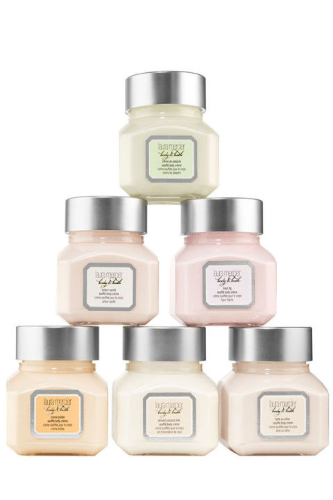 $62 BUY NOW A collection of marvelous minis from Laura Mercier will luxe up her lather for smoother skin post-soak. Featuring six soufflé-inspired creams split into sweet and citrus scents, each petite formula pampers and polishes skin for a healthy finish.