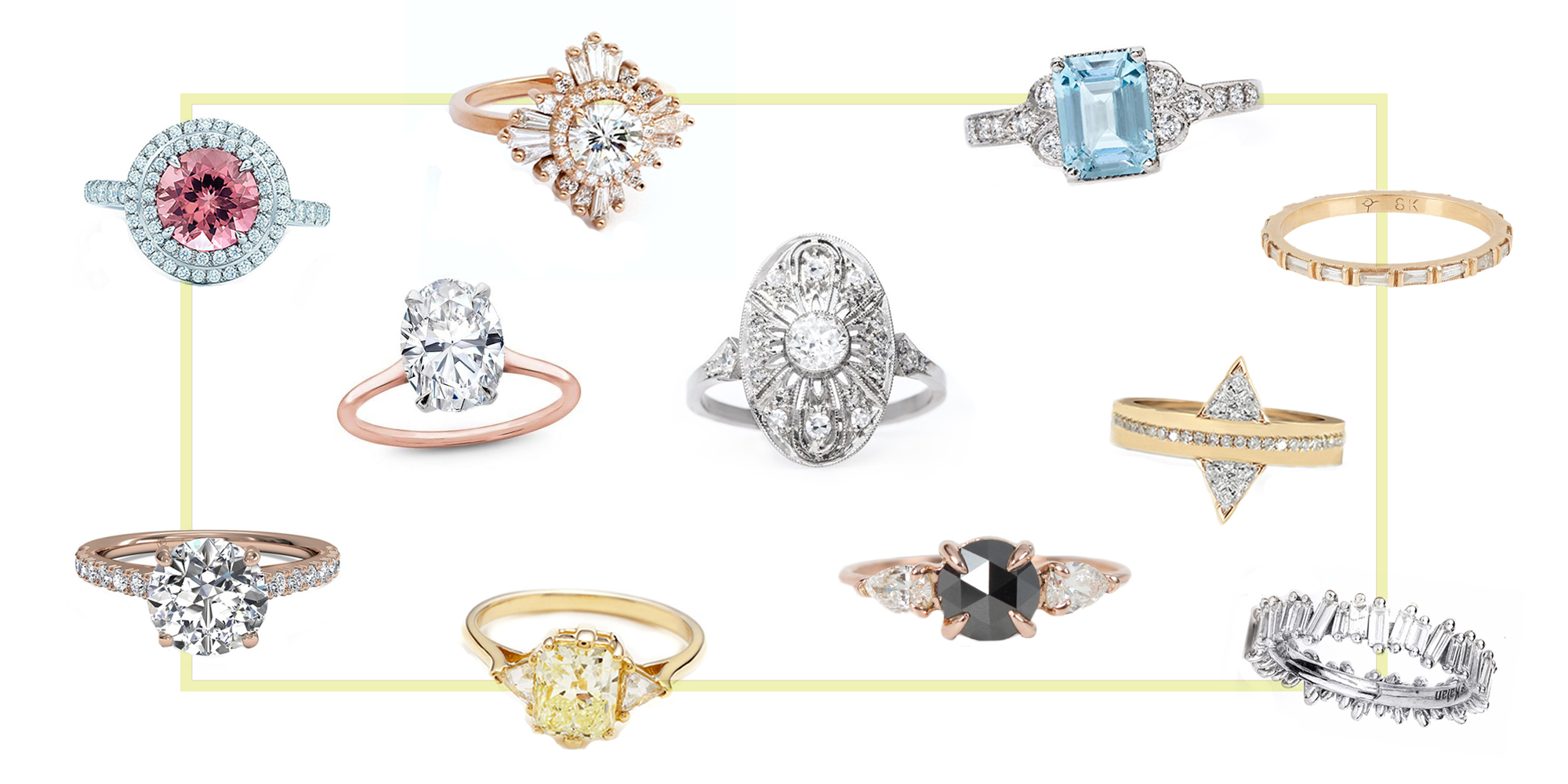 15 Best New Engagement Ring Styles In 2018 Vintage Amp Non