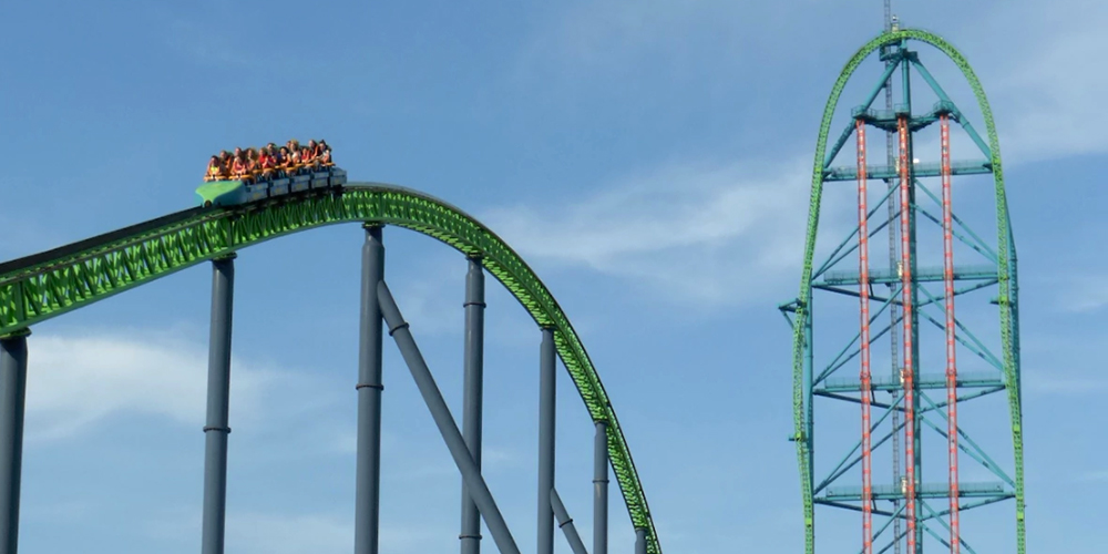 Most Terrifying Roller Coaster
