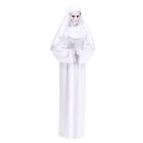 $25 BUY NOW We're still awaiting the theme of this upcoming AHS season, but go back and relive the horror of the second season in this terrifying nun costume. Shoes and gloves sold separately.
