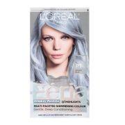 grey & silver hair dye of
