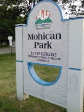 Mohican Park sign