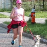 The run is dog-friendly!