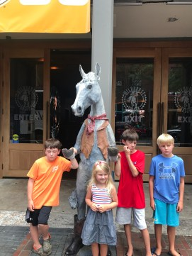 Kids were beyond exhausted at Wildhorse Saloon