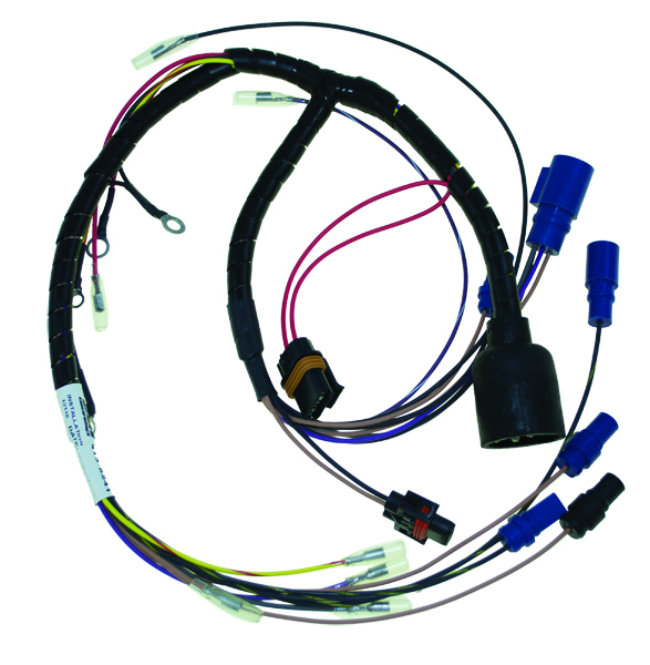 evinrude 115 v4 wiring diagram scart | harnesses johnson outboards basic power