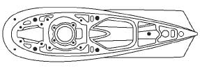 Johnson Evinrude Outboard Lower Unit Components Illustrations