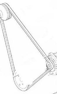 Belt , Alternator and Water Pump Belt, Crusader [CRU96307