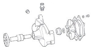 Circulating Water Pumps : Marine Engines|Manifolds|Risers
