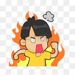 生氣男孩圖片-生氣男孩素材圖片-生氣男孩素材圖片免費下載-千庫網png