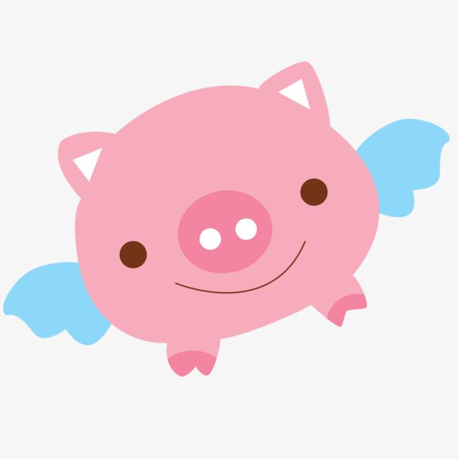 小可愛小豬卡通素材圖片免費下載_高清漂浮素材png_千庫網(圖片編號7049921)