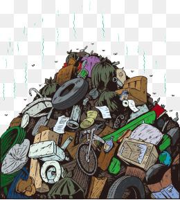 kitchen trash amazon undermount sink 【卡通垃圾素材】免费下载_卡通垃圾图片大全_千库网png