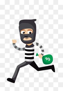【小偷卡通素材】免費下載_小偷卡通圖片大全_千庫網png