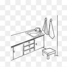 kitchen towel table tops 厨房巾素材 厨房巾图片大全 厨房巾素材免费下载 千库网png 厨房一角简笔画