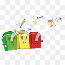 【卡通回收箱素材】免費下載_卡通回收箱圖片大全_千庫網png