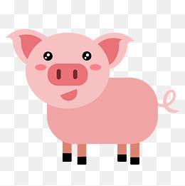 豬尾巴卡通圖片-豬尾巴卡通圖片素材免費下載-千庫網