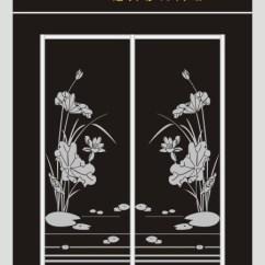 Kitchen Cabinet Door Stainless Steel Top Island 经典雕刻图案 荷花(图片编号:10382310)_雕刻图案_我图网