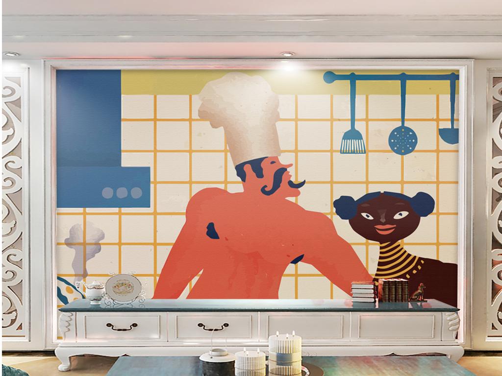 art for kitchen green countertops 北欧清新厨房艺术抽象图片设计素材 高清模板下载 30 78mb 电视背景墙 北欧清新厨房艺术抽象