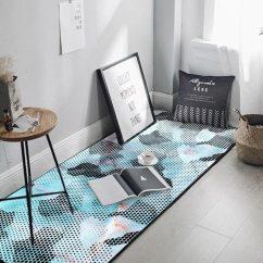 Blue Kitchen Rugs L Shaped Island 北欧时尚蓝色水彩抽象厨房长条地垫地毯图片设计素材 高清模板下载 15 91 北欧时尚蓝色水彩抽象厨房长条地垫地毯