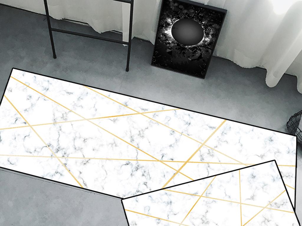 kitchen mats appliance sales 原创现代简约大理石白色地毯地垫厨房垫两件套图案设计图片素材 高清模板 原创现代简约大理石白色地毯地垫厨房垫两件套图案设计