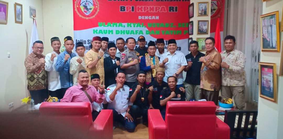 Menjalin Silaturahmi, BPI KPN PA RI Gelar Bukber Bareng Ulama & Penegak Hukum