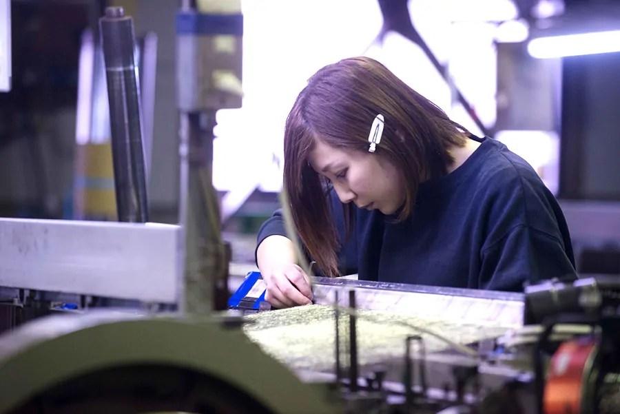 池田 亜理沙さん 20歳   ゲンバ男子   Bplatz 大阪産業創造館 中小企業情報サイト「ビープラッツ」