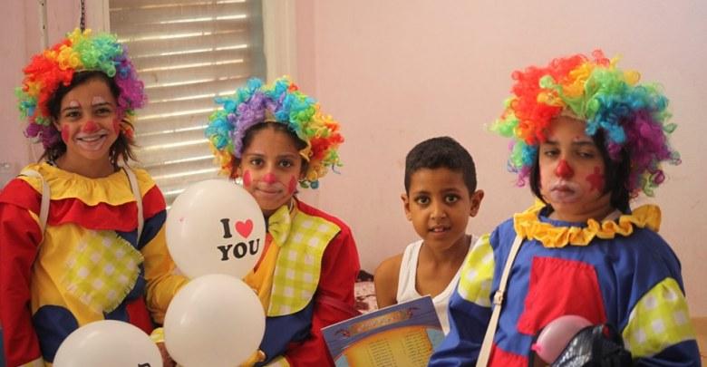 Photo of زيارة لاطفال المستشفى بمناسبة يوم الطفل الافريقي
