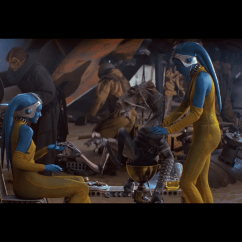 How Much Are Massage Chairs Sure Fit Chair Covers Bed Bath And Beyond Fun With Franchises: Favorite Images From Star Wars Episode I: The Phantom Menace | B+ Movie Blog
